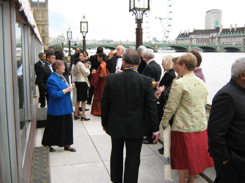 Club History - House of Lords Dinner May 2009