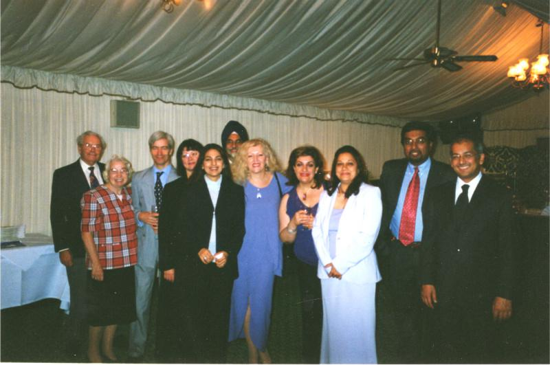 Club History - House of Commons Dinner Oct 2002
