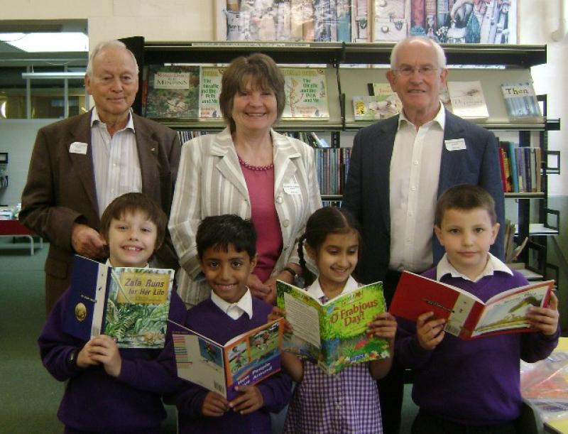 You Can Make A Difference Now - Rotary - Reading in Schools Large Web view