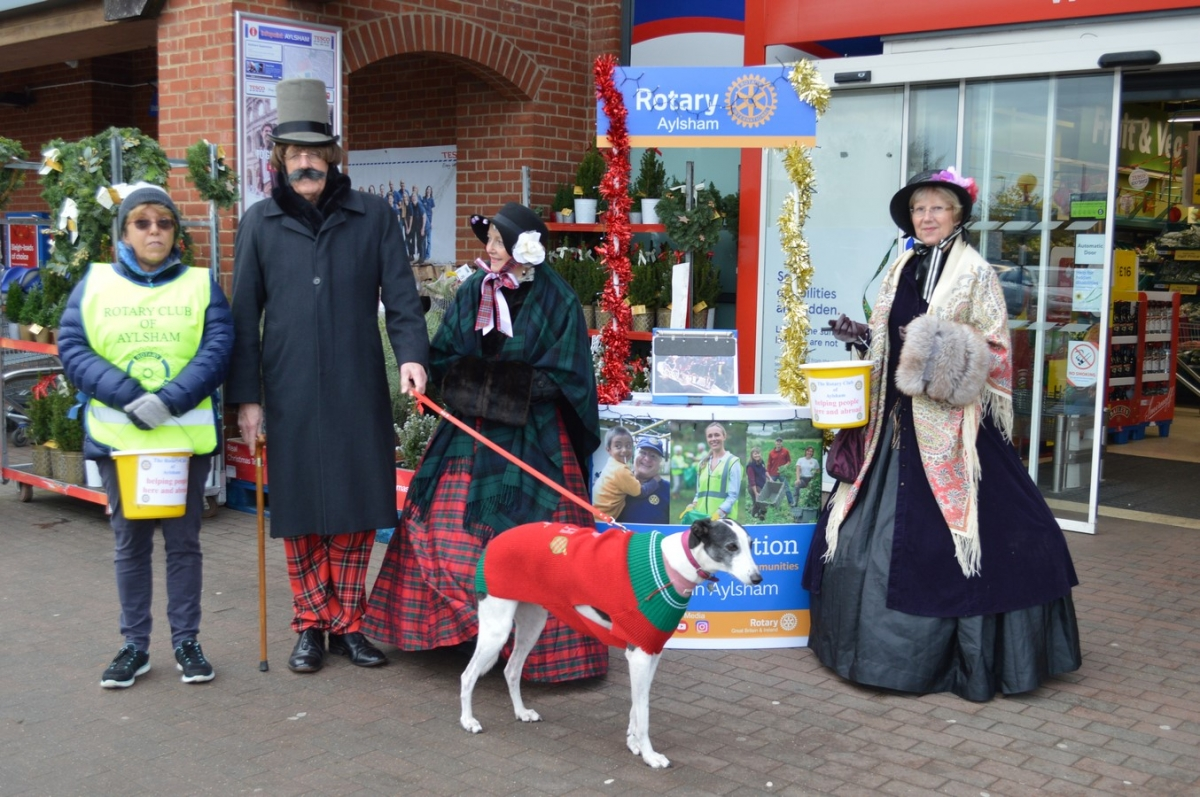 Collecting at Tescos - Rotary 009 (Copy)(6)