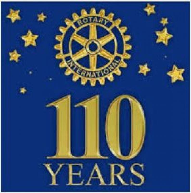 Rotary is 110 years old this year - Rotary 110