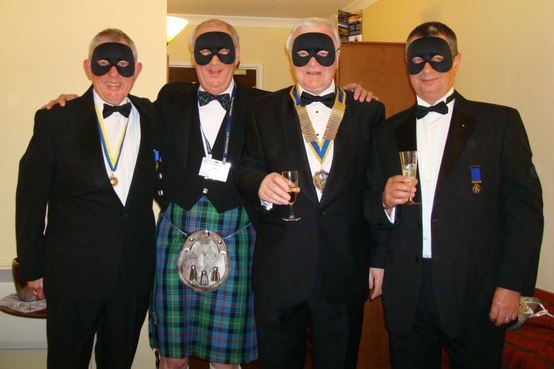 Keith McCartney – Tom Morris The Golfer - Rotary Conference 2012 Aviemore - The Four Zoros 1