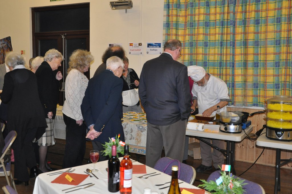 Rotarians can cook ! - Join the queue.