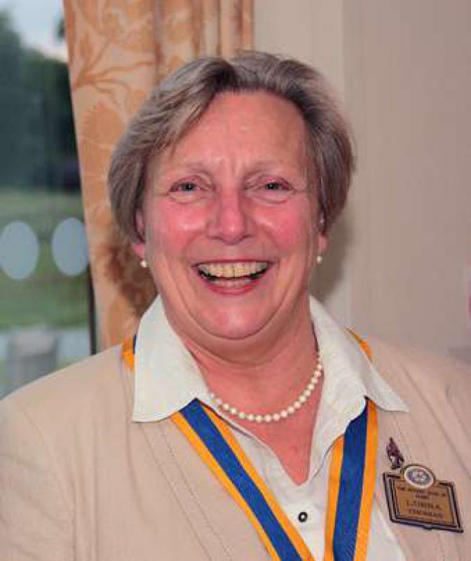 Our first Lady President - Lorna Thomas - Photo courtesy of Rotarian Ross Mitchell