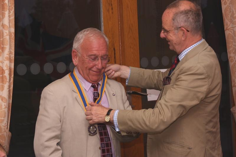 51st President of The Rotary Club of Fleet - Rotary Handover 25-06-12 (11)