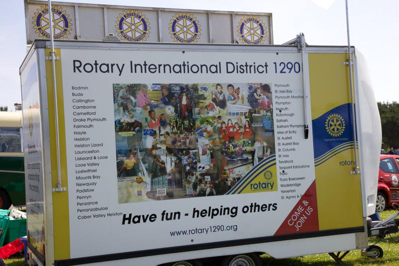 Wheels 2013 - Report and Slide Show - Rotary Information caravan