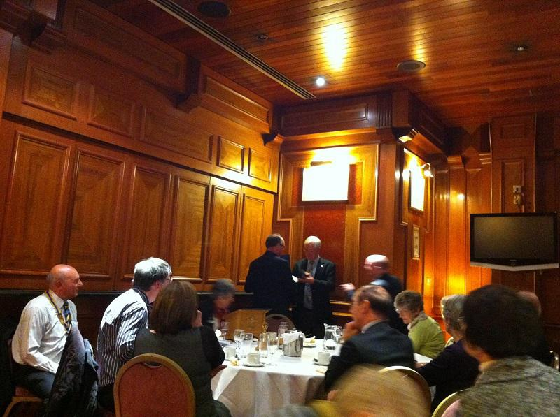 About our Club - Jim is awarded a Paul Harris Fellowship