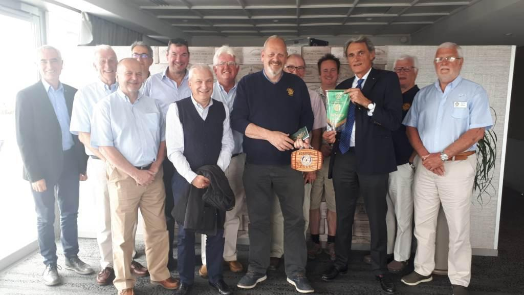 International visit - Members of the Rotary Club of Mendip and Rotary Club Bordeaux Ouest