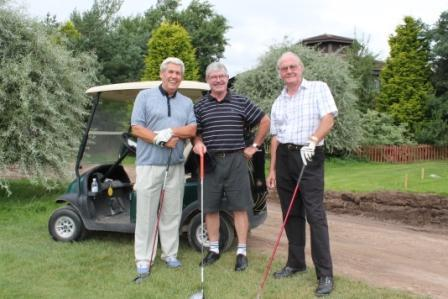 Peter Lane Memorial Golf Trophy Competitions  - Waqiting to Tee Off Day One