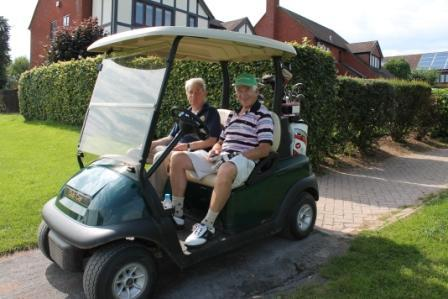 Peter Lane Memorial Golf Trophy Competitions  - Looking Relaxed!