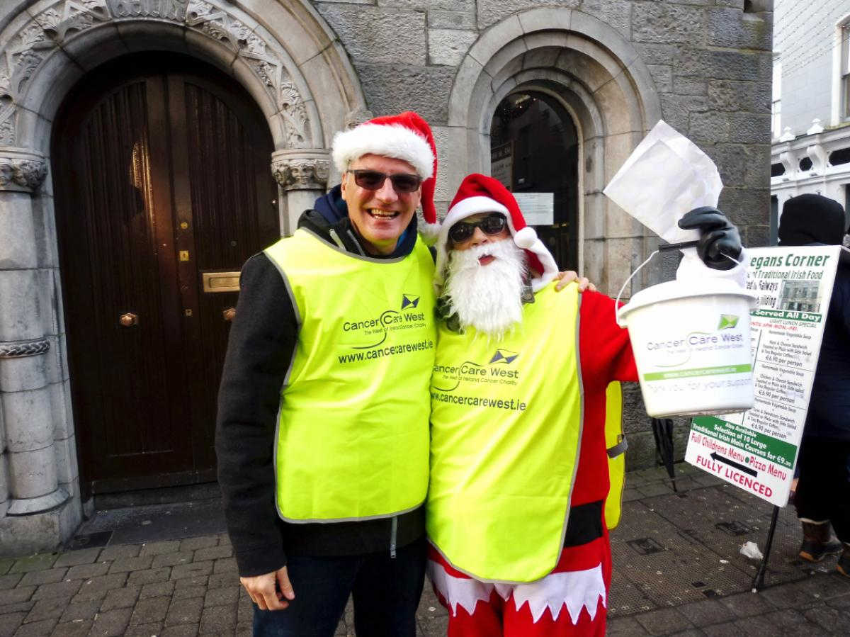 Community Activities - Rotary Santa and Elf