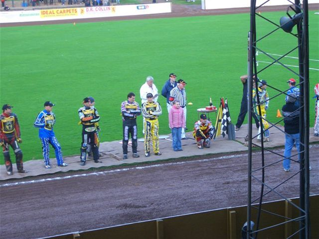 Speedway Night - Why are none of our lads on the podium !!