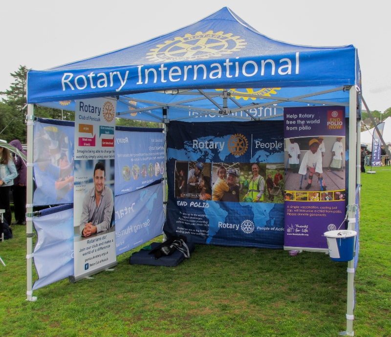 Penicuik in the Park on 25th May 2019 - Rotary Tent