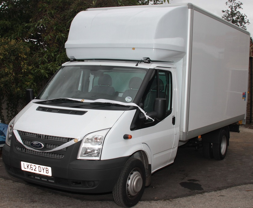 Richmond Furniture Scheme - The new van bought by Hampton Fuel Allotments and others