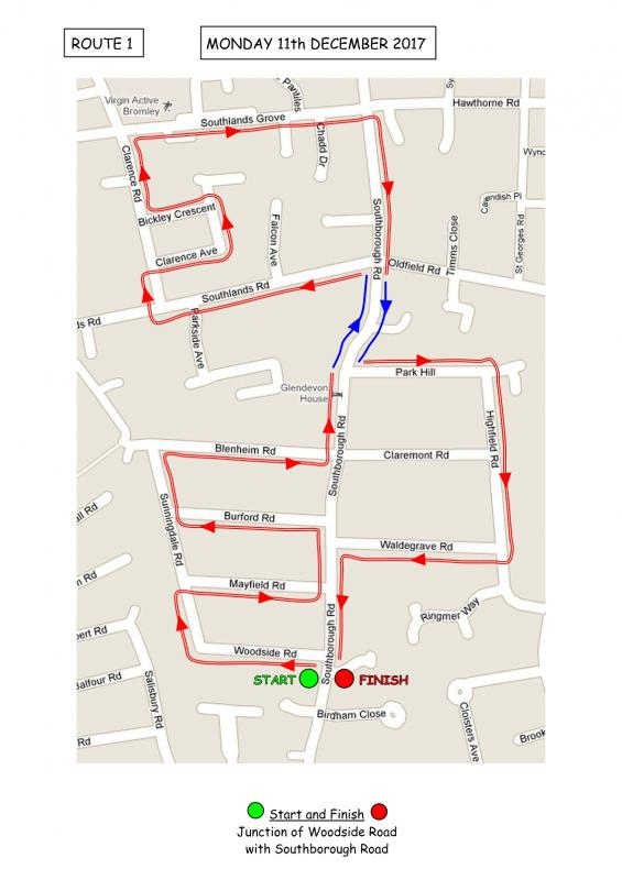 Christmas Sleigh Collection - Rotary Xmas Sleigh - Route 1