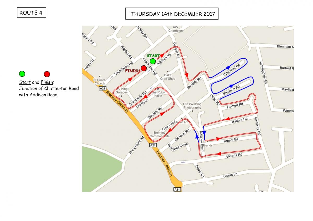 Christmas Sleigh Collection - Rotary Xmas Sleigh - Route 4
