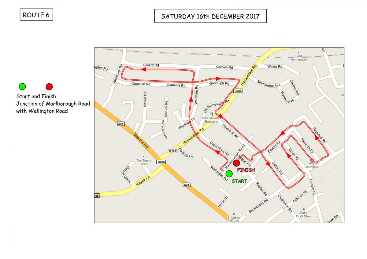 Christmas Sleigh Collection - Rotary Xmas Sleigh - Route 6