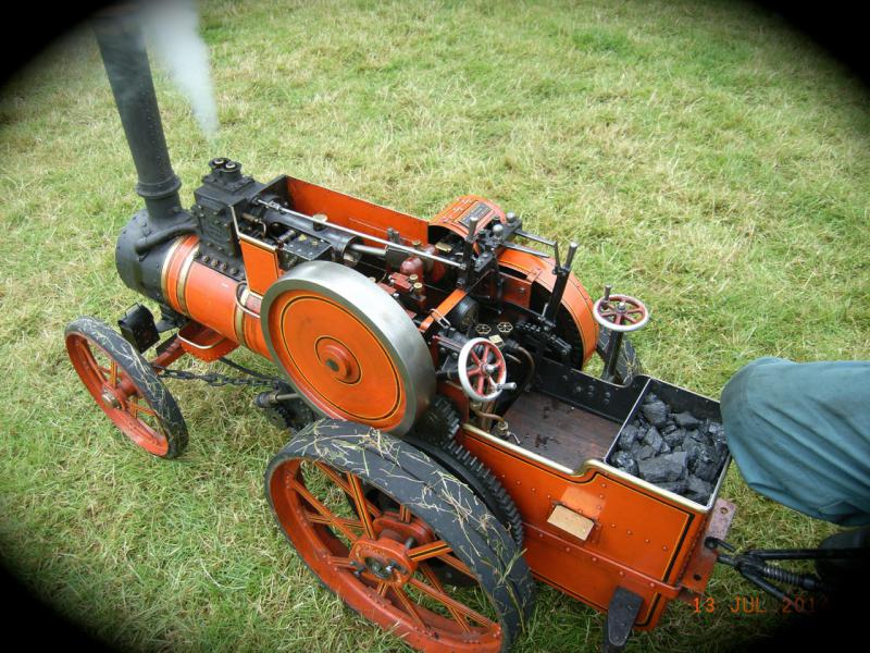 Rotary supports the Summer Festivities at the Carse Country Fair - Rotary full of Steam