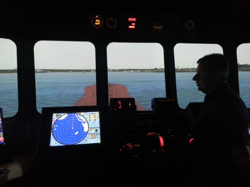Visit to Lairdside Maritime Simulator - Rotary-Club-at-Southport-Links-Lairdside-1 1
