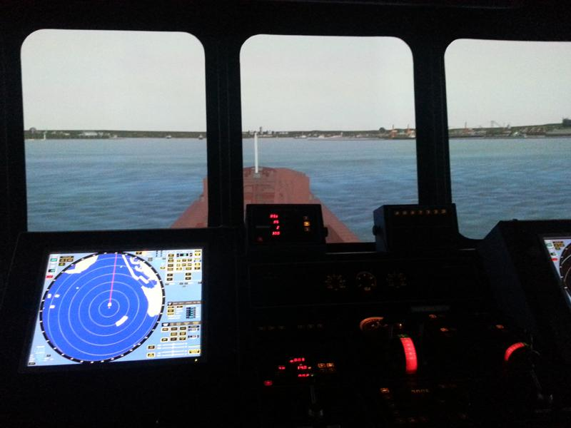 Visit to Lairdside Maritime Simulator - Rotary-Club-at-Southport-Links-Lairdside-2 1