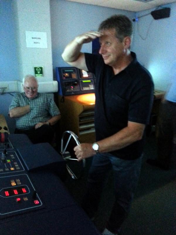 Visit to Lairdside Maritime Simulator - Rotary-Club-at-Southport-Links-Lairdside-5 1