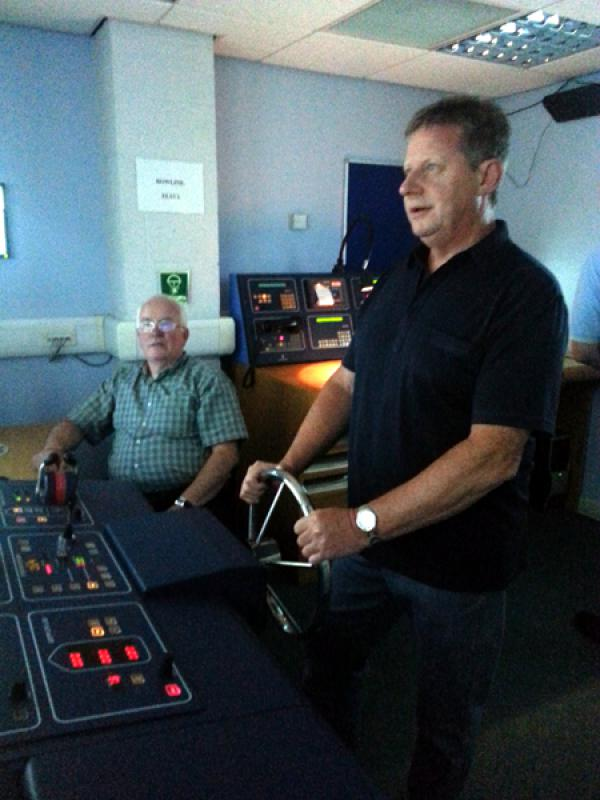 Visit to Lairdside Maritime Simulator - Rotary-Club-at-Southport-Links-Lairdside-6 1