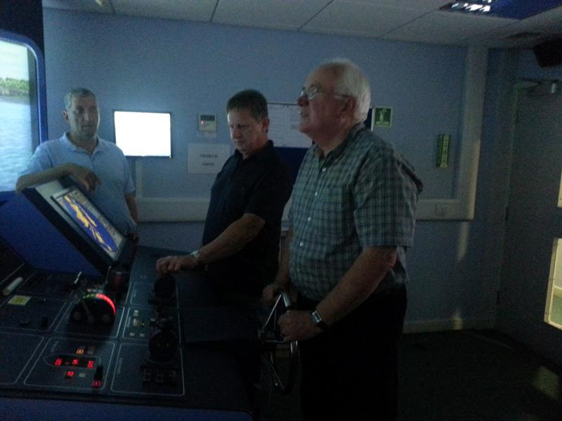 Visit to Lairdside Maritime Simulator - Rotary-Club-at-Southport-Links-Lairdside-7 1