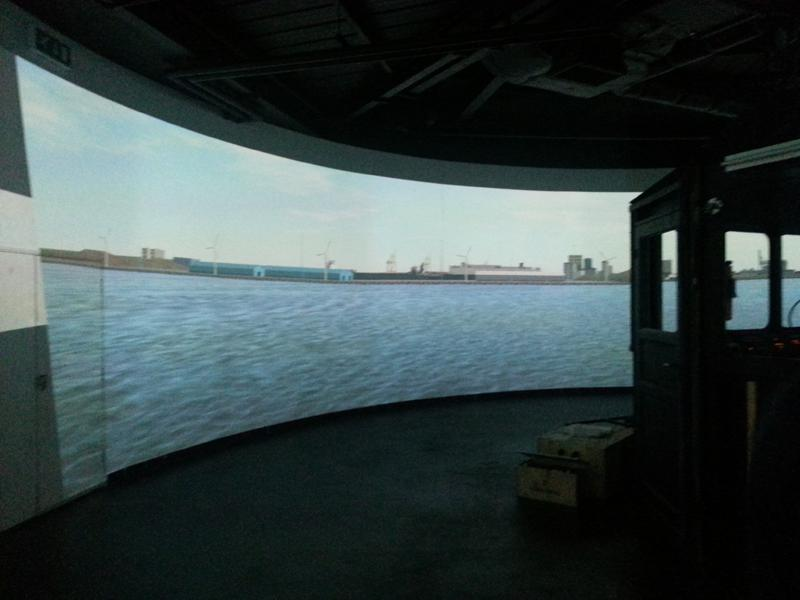 Visit to Lairdside Maritime Simulator - Rotary-Club-at-Southport-Links-Lairdside-8 1