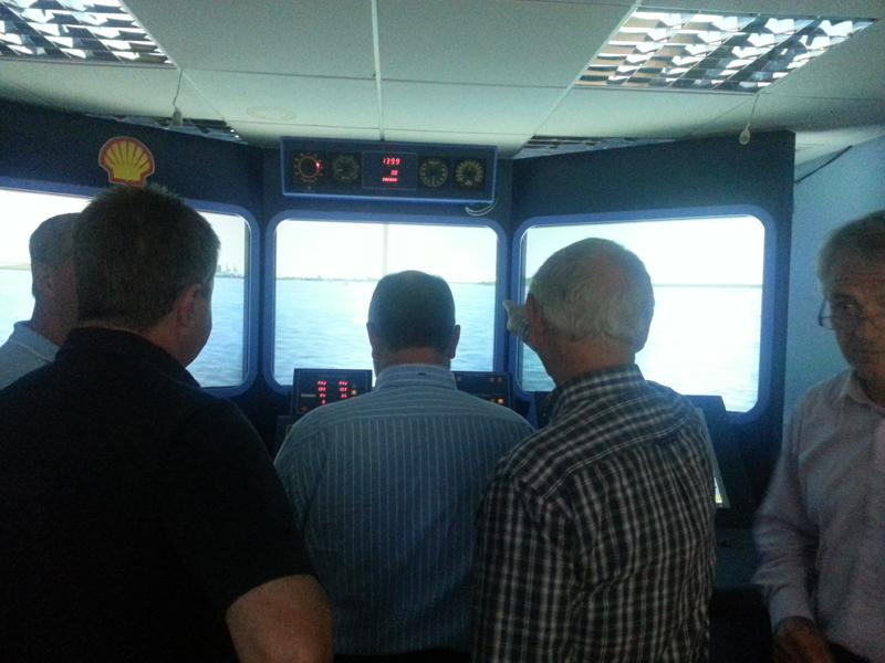 Visit to Lairdside Maritime Simulator - Rotary-Club-at-Southport-Links-Lairdside-9 1