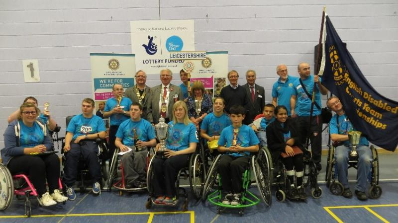 The 33rd English Disabled Sports Team Championships - Rotary-Disabled-Sports2014c