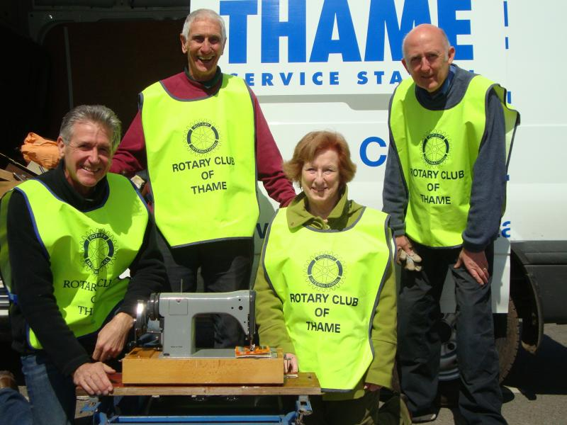 Rotary Club of Thame's Collection of Unwanted Tools - Rotary-Tools-Collection-2012-2