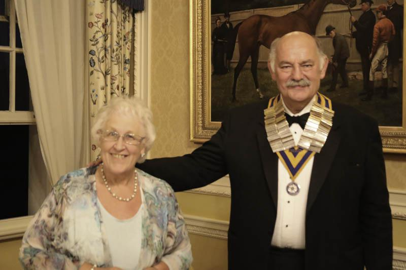 A new Rotary Year begins - Clive and Gillian are raring to start