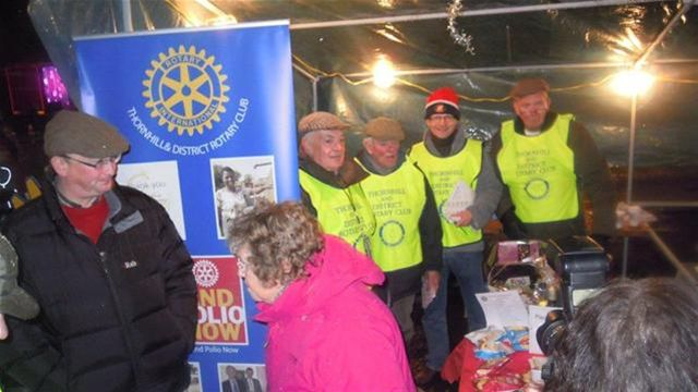 Rotary at Thornhill Late Night Trade Evening -