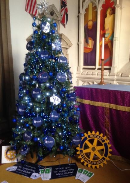 We're for Communities - Our decorated Christmas tree at St Andrew's Church