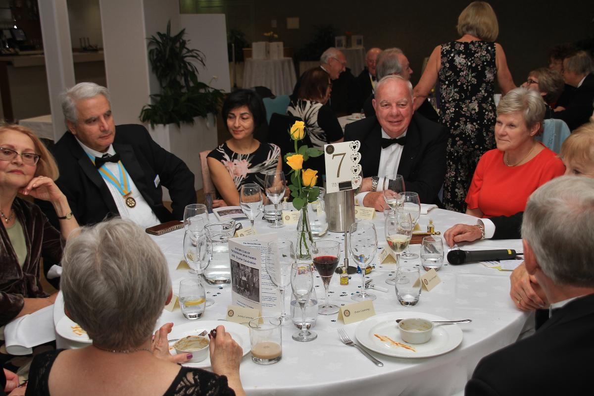 Club 40th Charter Anniversary Celebration -