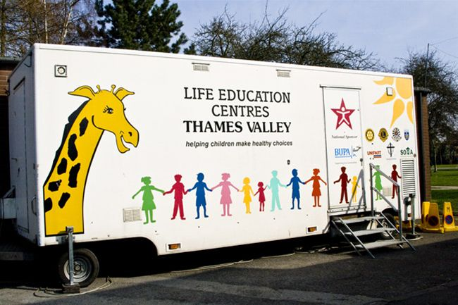 Life Education Centre - Grant from the Thame Town Council -