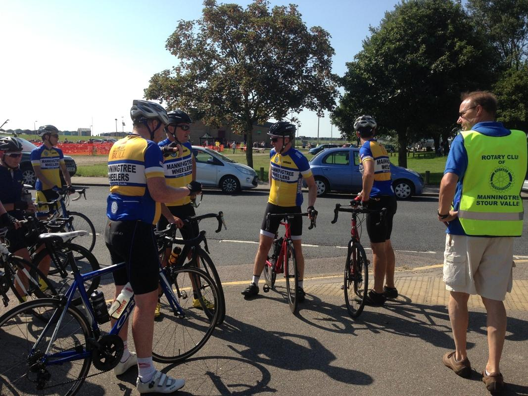 Rotary Ride 2017 for Prostate Cancer 18th June 2017 -