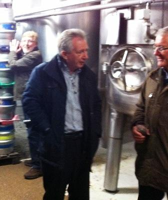Visit to West Berkshire Brewery -