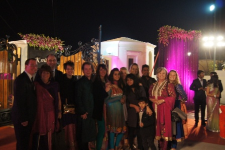 Ben's GSE visit to India - Royal Wedding in Jaipur with Rotarian Friends and New Zealand GSE Team