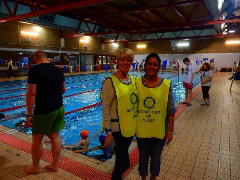 Purley Swimathon - 2016 - Stewards at the ready