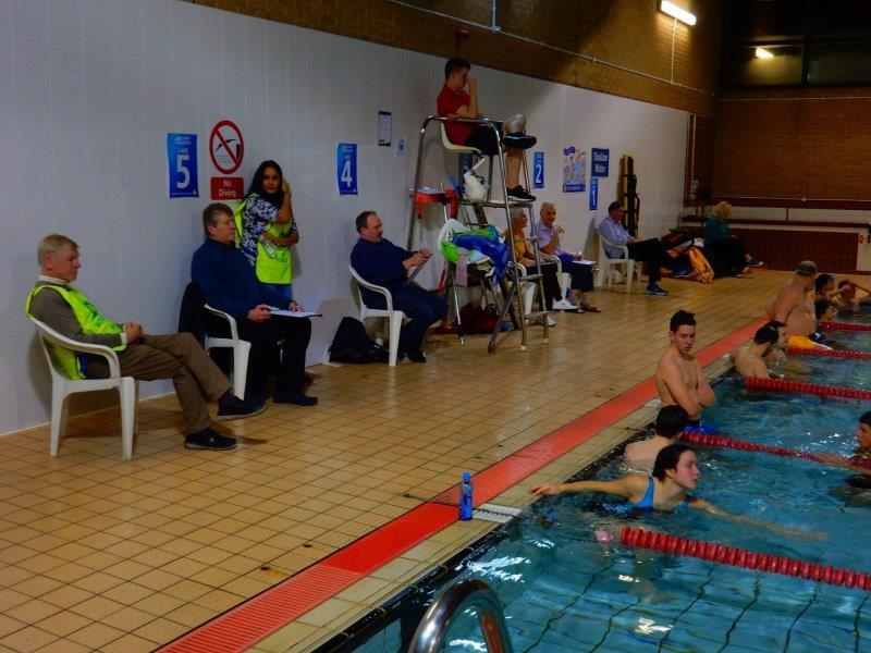 Purley Swimathon - 2016 - Some adjudication of course