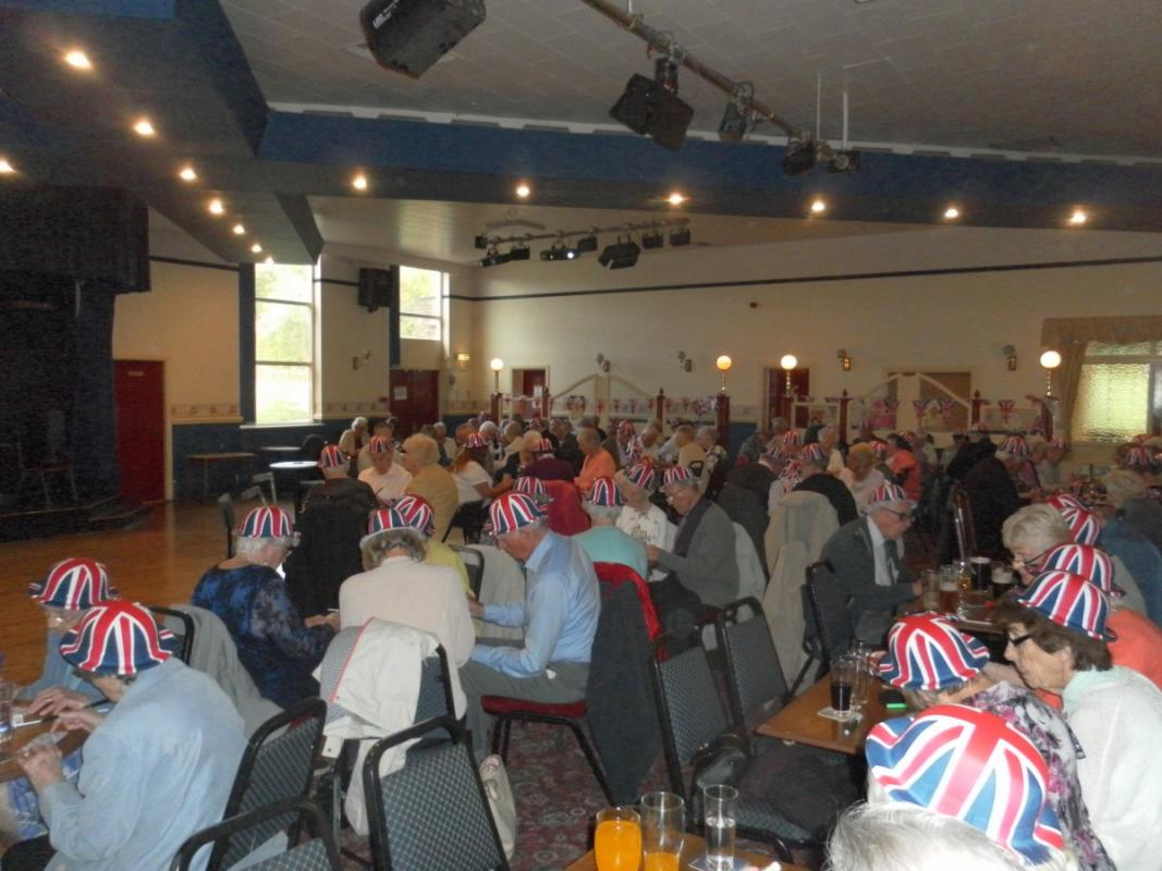 Annual Senior Citizens Party: 2016 - On Wednesday evening, 18th May, Horwich Rotary Club once again organised the Annual Senior Citizen's party at Horwich R.M.I.