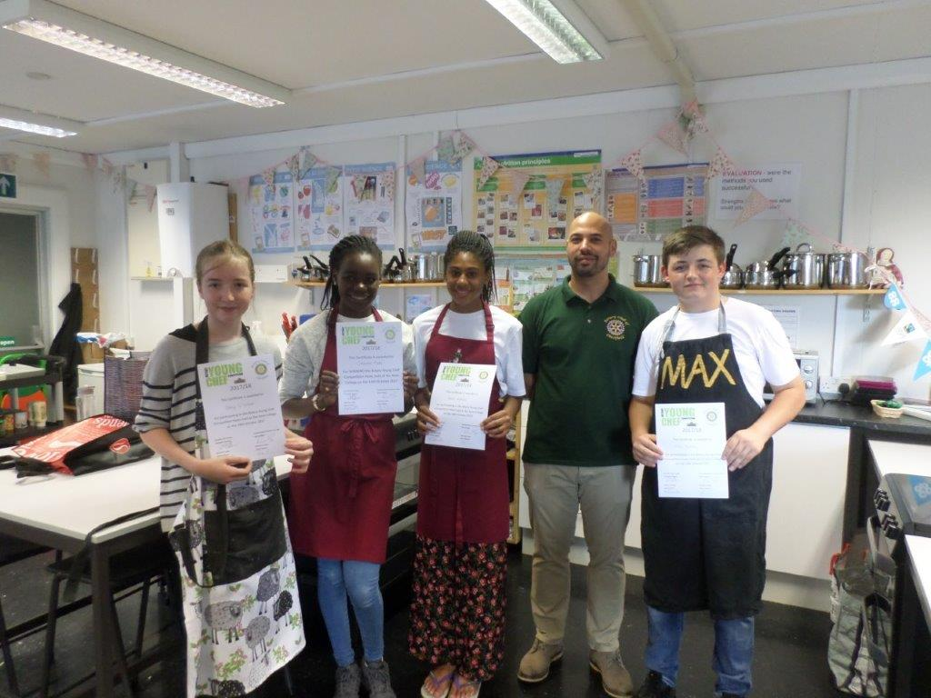 Rotary Young Chef of the Year Competition -
