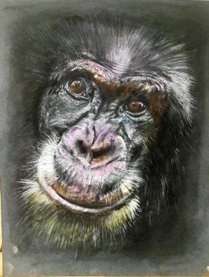 VIRTUAL OPEN ART EXHIBITION - Original Pastel - U/f - 10x8