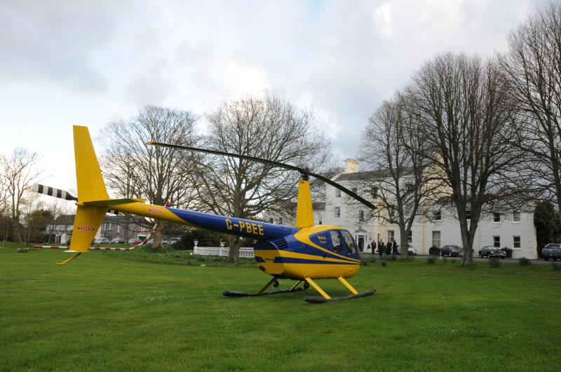 Diamonds are Forever - Charity Evening (20 April 2012) - Loaned Helicopter