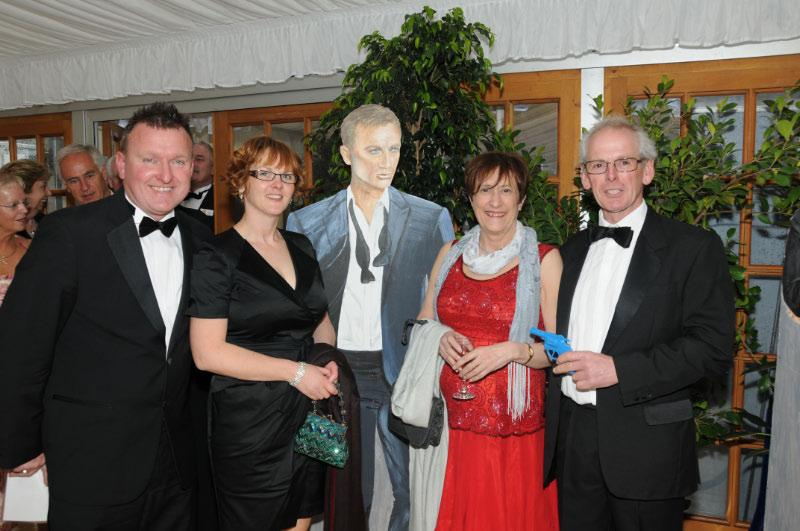 Diamonds are Forever - Charity Evening (20 April 2012) - Martin and Michelle Stanfield and Ann Outram and Ray Lowe