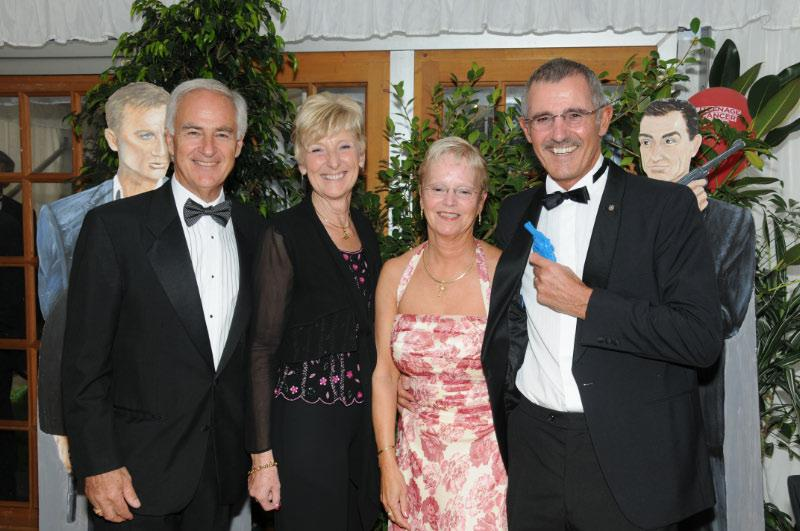 Diamonds are Forever - Charity Evening (20 April 2012) - Tony and Sue Spruce and Jocelyn and Nigel Dorey