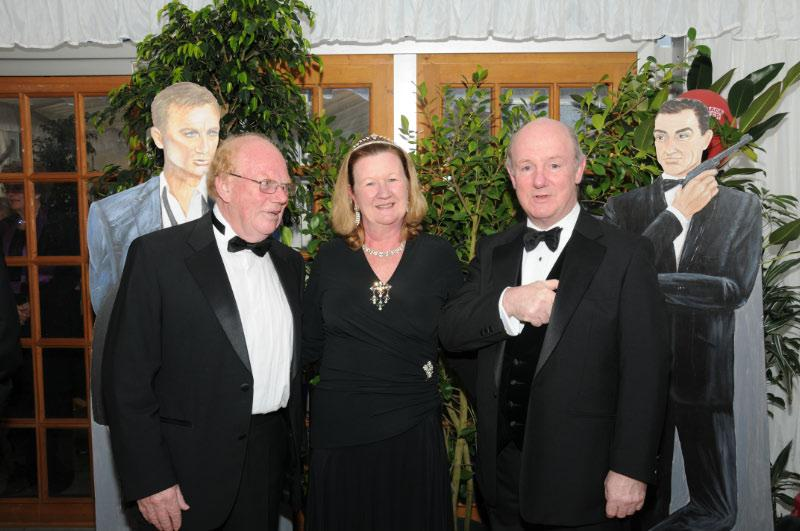 Diamonds are Forever - Charity Evening (20 April 2012) - Charles and Jane Bristow and Air Marshall Peter Walker