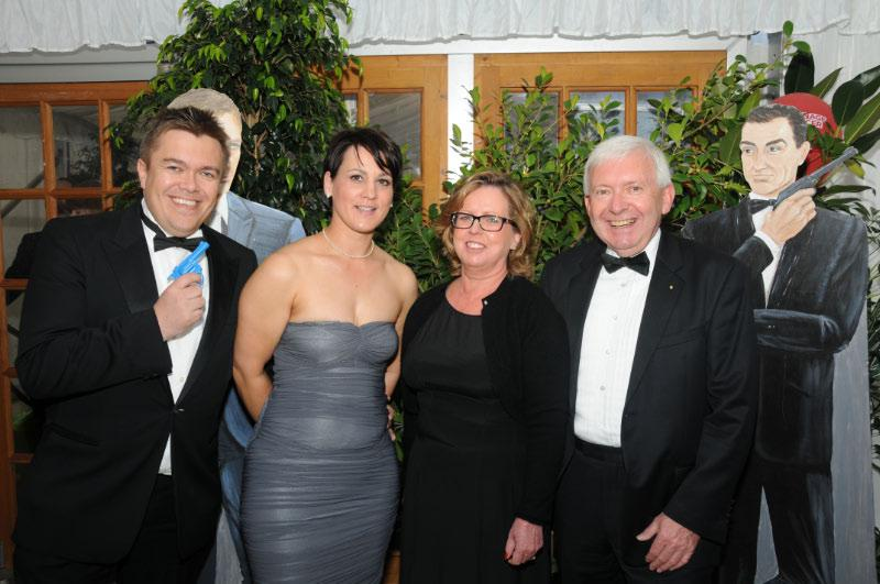Diamonds are Forever - Charity Evening (20 April 2012) - Mark Torode and Ally Edwards and Suzanne and Colin Pickard