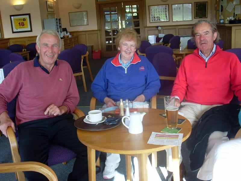 French Rotary Club visit to Penicuik - West Linton Golf Club 2